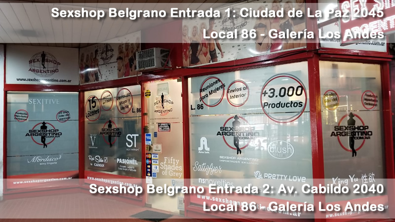 Sex shop en la ciudad
